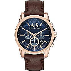 A/X Armani Exchange Outer Banks Watch