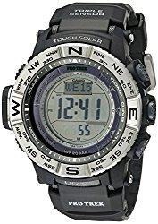 Casio Men's PRW-3500-1CR Atomic Resin Digital Watch