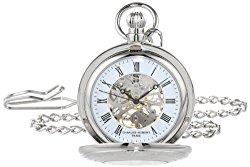 Charles Hubert 3527-W Mechanical Pocket Watch