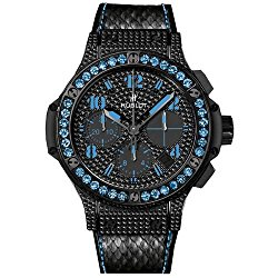 Hublot Big Bang Black Fluo Blue Sapphires Limited Edition Automatic Chronograph – 341.SV.9090.PR.0901