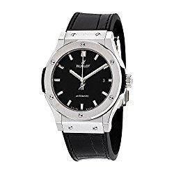 Hublot Classic Fusion Automatic Black Dial Titanium Mens Watch 542NX1171LR