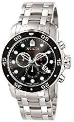 "Invicta Men's 0069 ""Pro Diver Collection"" Stainless Steel Watch"
