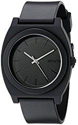 Nixon Time Teller P Watch – Matte Black