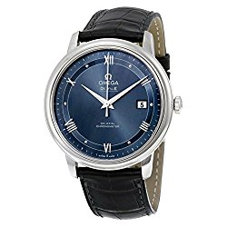 Omega De Ville Prestige Blue Dial Automatic Mens Watch 424.13.40.20.03.002