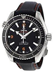 Omega Men's 232.32.42.21.01.005 Seamaster Planet Ocean Analog Automatic self wind Black Watch