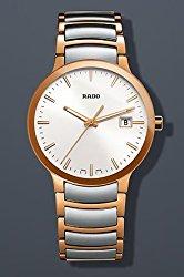 Rado Centrix Quartz Two-Tone Stainless Steel Mens Watch R30554103