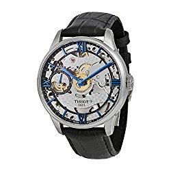 Tissot Men's T0994051641800 Chemin Des Tourelles Squelette Swiss Mechanical Watch