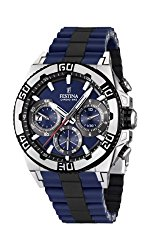 Festina F16659-2 Mens Blue and Black 2013 Chrono Bike Watch