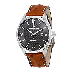 Hamilton Jazzmaster Viewmatic Auto H32755851 Black/Brown Leather Analog Automatic Men's Watch
