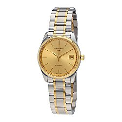 Longines Master Collection Automatic (36 Mm) Two Tone 18k Gold and Stainless Steel Men's Watch