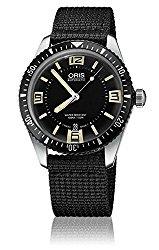 Oris Divers Sixty-Five Black Dial Mens Watch 733-7707-4064BKFS