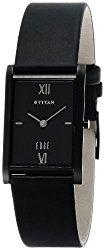 Titan Edge Analog Black Dial Men's Watch – NE1043NL01 [Watch]