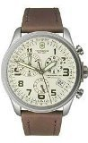 Victorinox Infantry Vintage Chronograph Beige Dial Stainless Steel Mens Watch 249050