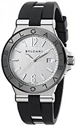 Bvlgari Diagono Silvered Dial Automatic Mens Watch 102252