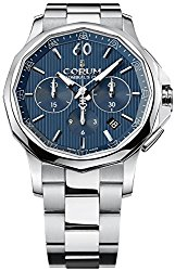 Corum Admiral's Cup Legend 42 Automatic Chronograph Steel Mens Watch Calendar 984.101.20/V705 AB10