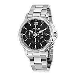Corum Admiral's Cup Legend 42 Automatic Chronograph Steel Mens Watch Calendar 984.101.20/V705 AN10