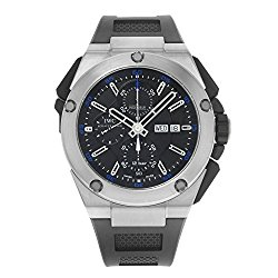 IWC Ingenieur Black Dial Rubber Mens Watch IW376501
