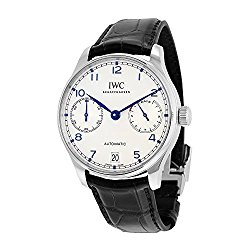 IWC Portugieser Automatic Black Strap Mens Watch IW500705