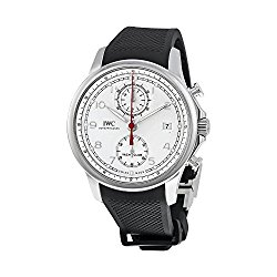 IWC Portugieser Yacht Club White Dial Black Automatic Mens Watch 3905-02