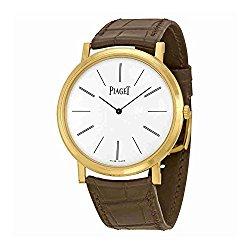 Piaget Altiplano Men's Yellow Gold Ultra-Thin Hand-Wound Mechanical Swiss Made Watch G0A29120
