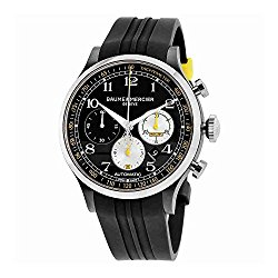 Baume & Mercier Shelby Capeland Chronograph 44mm Mens Watch on Rubber Strap