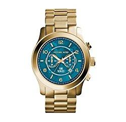 Michael Kors Runway Gold Three-Hand Men's Watch