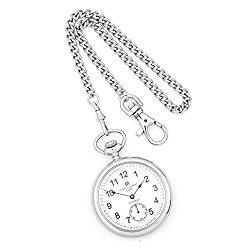 Charles-Hubert, Paris Open Face Mechanical Pocket Watch