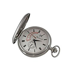 Personalized Meisterwerk Swiss Movement Quartz Pocket Watch M1883