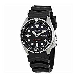 Seiko SKX007J1 Analog Japanese-Automatic  Black Rubber Diver's Watch