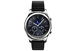 Samsung Gear S3 Classic Smartwatch 4GB SM-R770 with Leather Band (Silver) Tizen OS – International Version with No Warranty