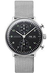 Junghans Max Bill Chronoscope Watch 027/4500.44