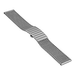 Staib watch strap Milanaise/Mesh, bracelet, steel, length 150 mm, 2792