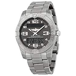 Breitling Aerospace Evo Grey Dial Watch E7936310-F562TI