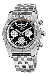 Breitling Men's AB011012/B967 Chronomat B01 Black Chronograph Dial Watch