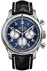 Blue Breitling Navitimer 8 Chronograph B01 Chronometer 43 AB0117131C1P1