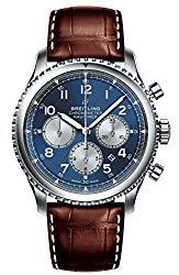 Blue Breitling Navitimer 8 Chronograph B01 Chronometer 43 AB0117131C1P2