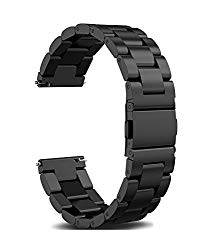 22mm 20mm 18mm Watch Band, amBand Quick Release Premium Solid Stainless Steel Metal Business Replacement Bracelet Strap for Men's Women's Watch