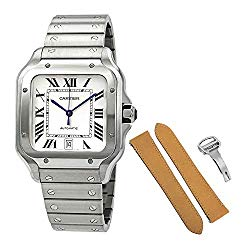 Cartier Santos de Cartier Large Model Automatic Steel Men's Watch WSSA0009