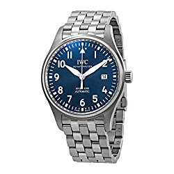 "IWC Mark XVIII Edition""Le Petit Prince"" Blue Dial Automatic Men's Watch IW327016"