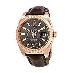 Rolex Sky-Dweller Dark Rhodium Dial Automatic Men's Watch 326135RSL
