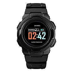 Smart Watch for Men Compatible with Android iPhone Samsung, Heart Rate Blood Pressure Oxygen Sleep Monitor Pedometer GPS, Waterproof Sport Fitness Tracker Smartwatch