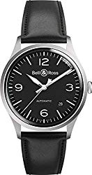 Bell and Ross Vintage Automatic Black Dial Mens Watch BRV192-BL-ST/SCA