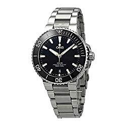 Oris Aquis Automatic Black Dial Mens Stainless Steel Watch 01 733 7732 4134-07 8 21 05PEB