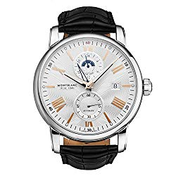 Montblanc 4810 Silvery White Dial Automatic Men's Watch 114857