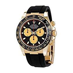 Rolex Cosmograph Dayton Chronograph Automatic Mens Oysterflex Watch 116518BKCSR