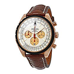 Breitling Chono-Matic Chronograph Automatic Chronometer Silver Dial Men's Watch R1436002/G660BRCT