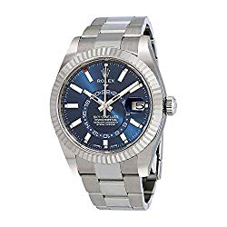 Rolex Sky-Dweller Blue Dial Automatic Men's Oyster Watch 326934BLSO