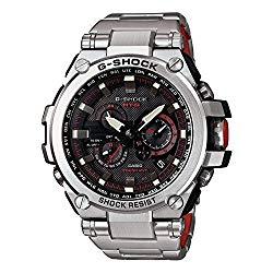 Casio G-Shock Black Dial Stainless Steel Quartz Men's Watch MTGS1000D-1A4