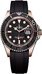 Men's Rolex Yacht-Master 40 Solid 18k Rose Gold Watch (Reference: 116655)