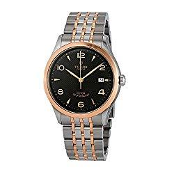 Tudor 1926 Black Dial Automatic Men's Two Tone Watch M91551-0003